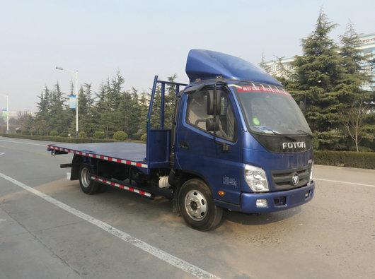 福田牌BJ5049TPB-FE型平板运输车