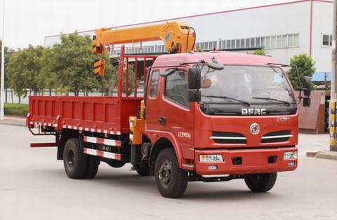 东风牌EQ5140JSQ8GDDAC型随车起重运输车
